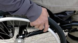 wózek dla niepełnosprawnych